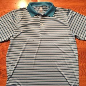 Official PGA Tour Golf Polo Striped Size XL